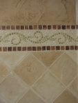 Faux Mosaic and Stone Tiles