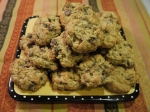 Chocolate Chip-Oatmeal-Coconut Chewy Cookies {my new fav}