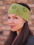 Flowery Fleece Headband