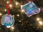 Mirrored Photo Ornaments