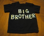 Big Brother Applique Shirt