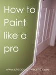 How to Paint a Room {tips from a pro}