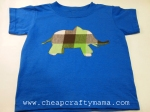 Elephant T-shirt {free pattern}